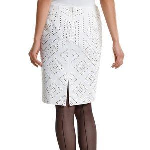 White House Black Market Skirts - WHBM  Studded Skirt size 2
